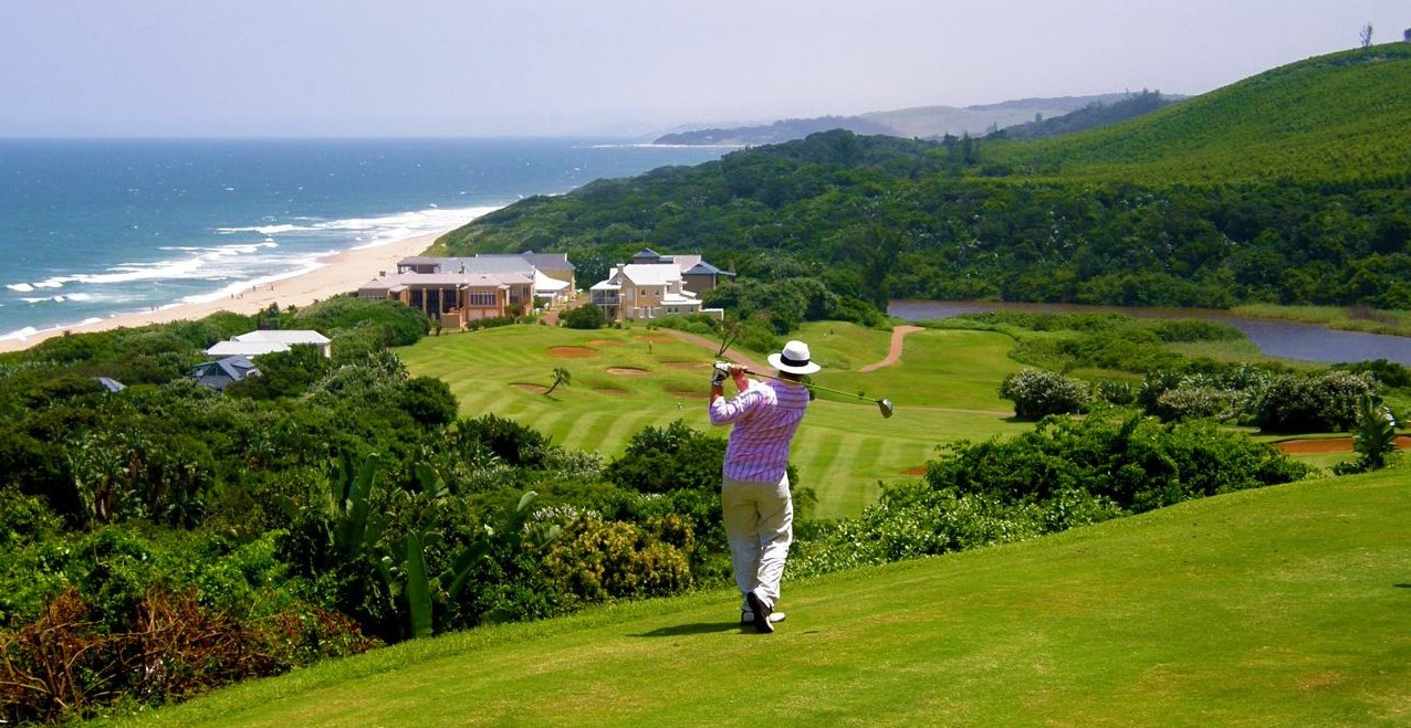 Top golf accommodation at Prince's Grant on Kwazulu Natal's Nroth Coast or Dolphin Coast.